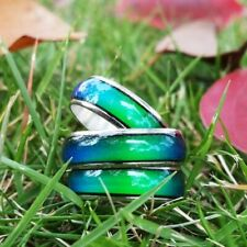 Stainless Ring Changing Color Mood Rings
