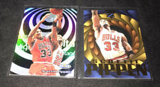 1997-98 NBA Hoops SCOTTIE PIPPEN HIGH VOLTAGE Z-FORCE VORTEX SP Insert Card LOT