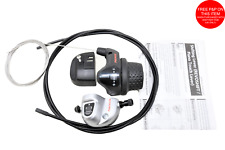 Shimano 3Speed Nexus SL-3S41E Gripshift Rotary Shifter With Bell,Crank,Cable Set