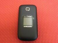 Samsung Gusto 3 SM-B311V Verizon Wireless 32MB Dark Blue Flip Cell Phone
