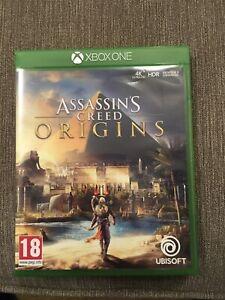 Assassins Creed Origins Game Microsoft Xbox One Series X Backwards Compatible UK