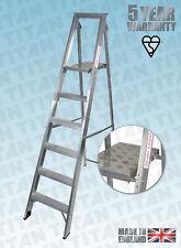More details for platform steps folding step ladders aluminium trade class 1 titan  3 to 12 tread