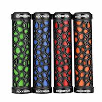 US RockBros Bike MTB Fixie Lock-on Fixed Gear Rubber Handlebar Grips 22.2mm