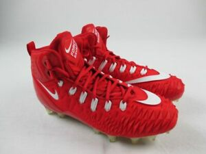 Nike Force Savage Pro TD Promo Cleats Men's Red NEW Multiple Sizes