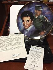 "Elvis Remember - ""The Early Years"" Plate By Susie Morton"