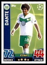 Match Attax Champions League 15/16 Dante VfL Wolfsburg No. 116