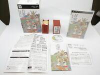 Nichijou Ucyuujin Hanafuda DX Deluxe Pack PSP PlayStation Portable Japan F/S