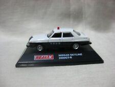 NISSAN SKYLINE 2000GT-R Kyoto police 1:72 REAL-X Die cast minicar