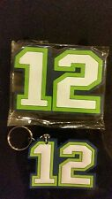 Seattle Seahawks 12 Magnet and Keychain  FREE US SHIPPING