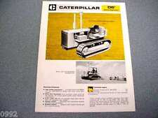Caterpillar D5 Special Application Crawler Tractor Brochure 1974