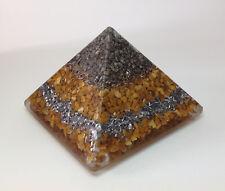 Orgonita Pirámide, 8.5 CM, 300g peso, harmoniser espacio