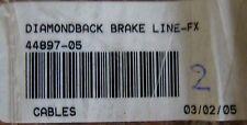 HARLEY 44897-05 DIAMONDBACK BRAKE LINE-FX NOS