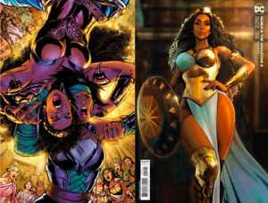 NUBIA AND THE AMAZONS #2 CVR A & B VARIANT SET (NM) 2021 DC COMICS WONDER WOMAN