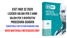 Eset Nod 32 Antivirus 2020 (3 Dispositivi) 3 anni Global
