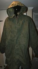 Mens Army Hooded Parka Night Camouflage Desert With Liner Size S Small Priority