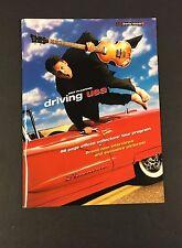 2002 Paul McCartney Tour Program Driving USA Excellent The Beatles Music Vtg