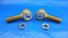"1-1/4"" x 9/16""  Bore Panhard Chromoly Rod End Kit With Jams, Heim Joints,  Flex"