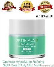 ORIFLAME Optimals HydraMatte Refining Night Cream Oily Skin 50ml 34304 NEW