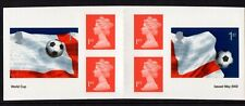PM6 2002 World Cup Football Retail Stamp Booklet MNH