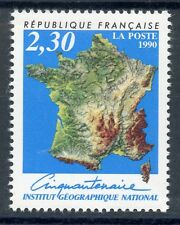 STAMP / TIMBRE FRANCE NEUF N° 2662 ** INSTITUT GEOGRAPHIQUE NATIONAL