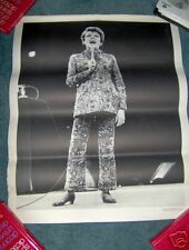 JUDY GARLAND OFFICIAL CONCERT POSTER LATE 1960'S