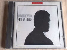 DAVID NEWTON - EYE WITNESS - CD SIGILLATO (SEALED)