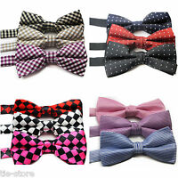 MENS SEXY PATTERN PRE-TIED BOW TIE MEN'S BOWTIE WEDDING PARTY TUXEDO FORMAL TIES