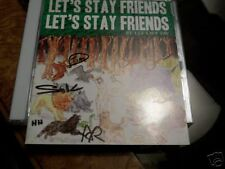 LES SAVY FAV FRIENDS SIGNED AUTOGRAPHED CD INDIE POP