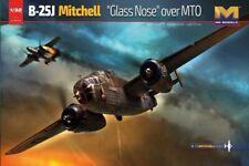 HK Models 1/32 B-25J Glass Nose Over MTO Plastic Model Kit HKM01E024