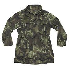 Genuine Czech Army Issue M95 Tarn Camouflage Field Jacket - Unused Army Surplus