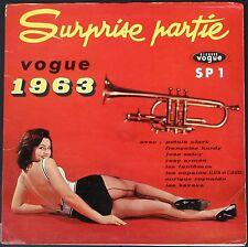 SURPRISE PARTIE VOGUE 1963 TWIST MADISON Rare LP 33T HARDY FANTÔMES CLARK SALCY