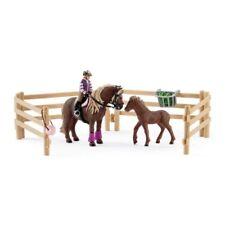 Schleich Horse Club Reiterin mit Island Ponys 42363 NEU/OVP