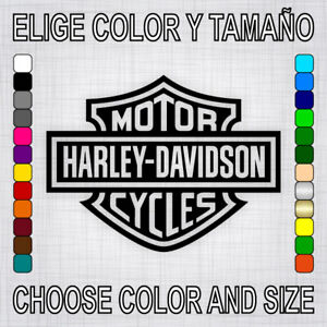 PEGATINA HARLEY DAVIDSON vinilo sticker autocollant decal adesivi moto decal