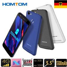 5500mAh 5.5'' HOMTOM HT50 4G Smartphone 3GB+32GB Android7.0 Handy Ohne Vertrag