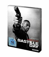 BASTILLE DAY blu ray Steelbook - IDRIS ELBA ( NEW )