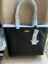 BNWT DKNY Medium Leather Tote Bag, Black