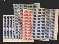 300 U. S. Mint Stamps (5 Sheets) 1090 1074 1063 1008 1092 Cv $110 Lrg Lot