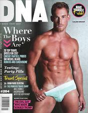 DNA MAGAZINE #204 2017, gay men DAVID JOHN CRAIG CALUM WINSOR,Where The Boys Are