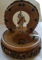Vintage Catskill Mountains Souvenir Cigar Ashtray All-Nu Toy Soldier Jockey