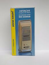 HITACHI RECHARGEABLE SHAVER RM - 2500 UD MADE IN JAPAN