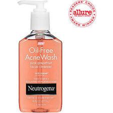 Neutrogena Oil-Free Acne Wash Facial Cleanser, Pink Grapefruit - 6 Oz