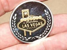 Las Vegas Show Girl Silver 1 Ounce Sterling Silver Casino Commemorative Coin