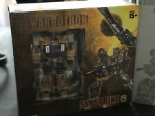 Transformers Warbotron WB-01C Bruticus  Sly Strike MP Swindle in Mint condition