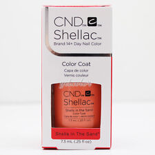 CND Shellac UV LED Gel Polish RHYTHM & HEAT Collection Shells In The Sand #91587