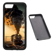 Funda de teléfono de Goma vapor Train se ajusta iPhone