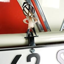 Volkswagen VW Bubblehead License Plate Topper Bug Samba Ghia Bus Cox Kdf Okrasa