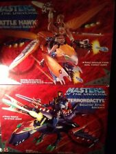He-Man Battle Hawk and Skeletor Terrordactyl Motu 200x Masters of the Universe