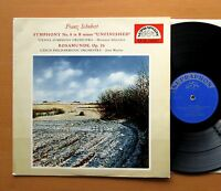 SUB 10001 Schubert Symphony 8 Unfinished Rosamunde NM/EX Supraphon Mono LP