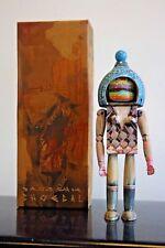 "DAVID CHOE Ningyoushi Designer Toy 8"" Hand made paint Wood CHOEGAL ORIGINAL"