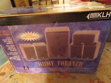 Klh Hta-9906 6 Piece~550-Watt Home Theater System-Brand New In Original Box